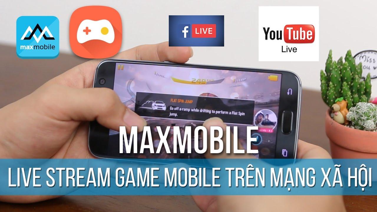 Cách live stream chơi game mobile trên facebook và youtube - Omlet Arcade