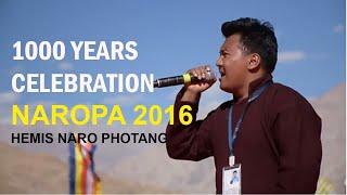 ladakhi song oh ho nerang  tribute to naropa 2016   tundup hansraj  ladakh