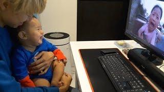 말이야와 친구들 영상 보고 빵빵 터지는 국민이! 아기 일상 밀착중계 | 국민 KUKMIN Vlog