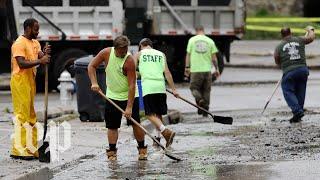 Torrential rains trigger flash flooding in Pennsylvania