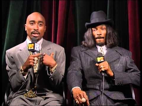 Interview 2Pac & Snoop Dogg - Video Music Awards New York - MTV