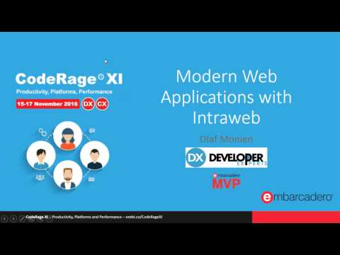 Coderage XI - Modern Web Applications with Intraweb and Bootstrap