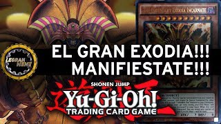 Exodia the Forbbiden. Real Action