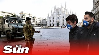 Italy quarantines 16 MILLION people in  measures to stop the deadly spread of coronavirus