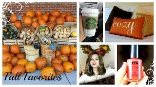 Fall Favorites 2013 Thumbnail