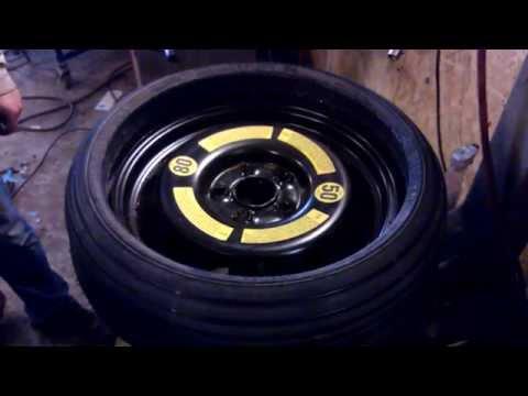 volkswagen touareg spare wheel