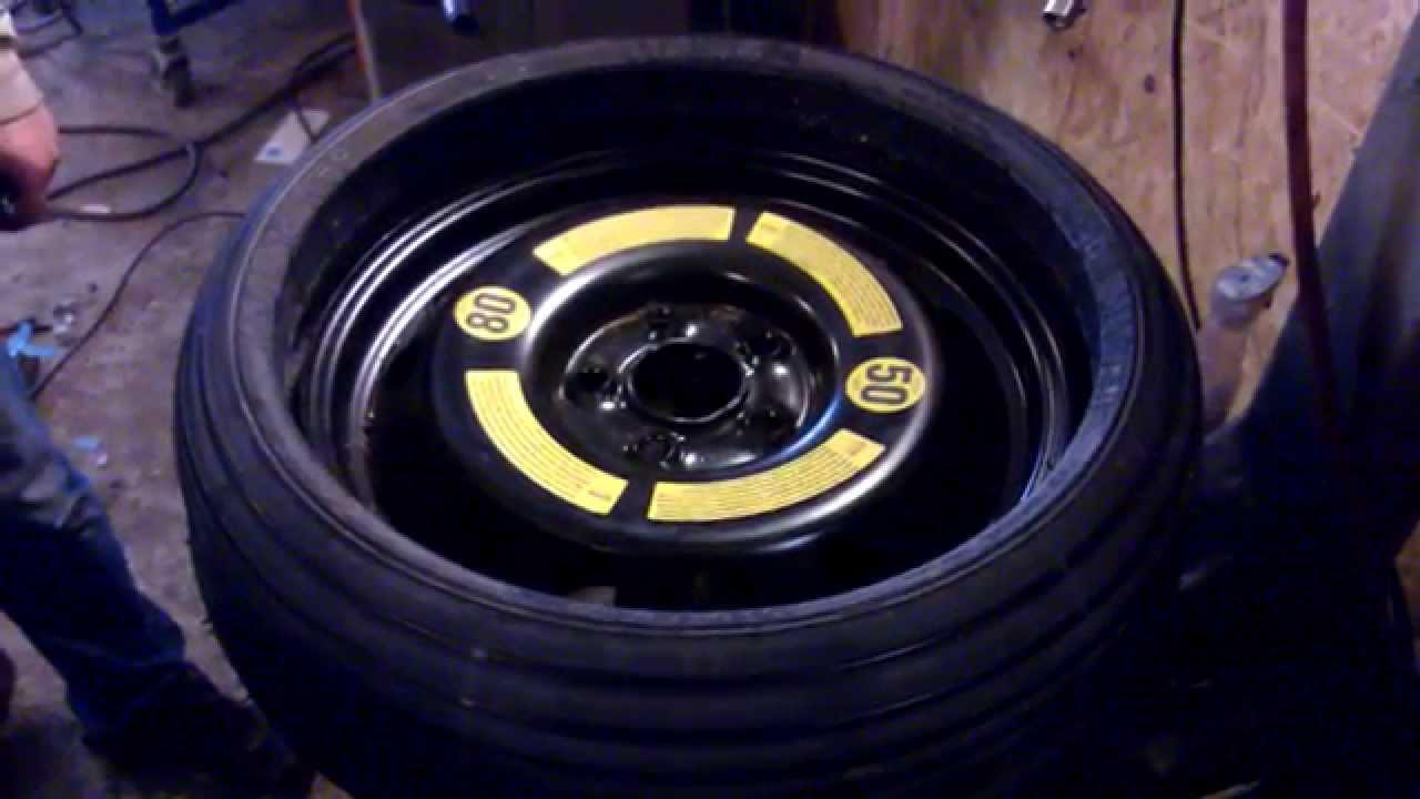 volkswagen touareg spare wheel - YouTube