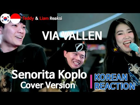 [IDN SUB] Orang Korea Reaksi, Via Vallen - Senorita Koplo Cover Version, Korean reaction