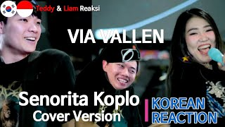 Download lagu [IDN SUB] Orang Korea Reaksi, Via Vallen - Senorita Koplo Cover Version, Korean reaction