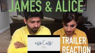 James & Alice Trailer Reaction | Prithviraj Sukumaran & Vedhika | Malayalam Movie |