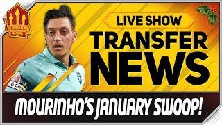 MOURINHO Eyes OZIL & ALDERWEIRELD TRANSFER? Man Utd Transfer News