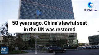 GLOBALink   Ten Chinese working for the UN system