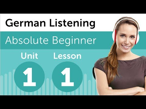Luyện nghe tiếng Đức A1- Bài 1: tại hiệu sách