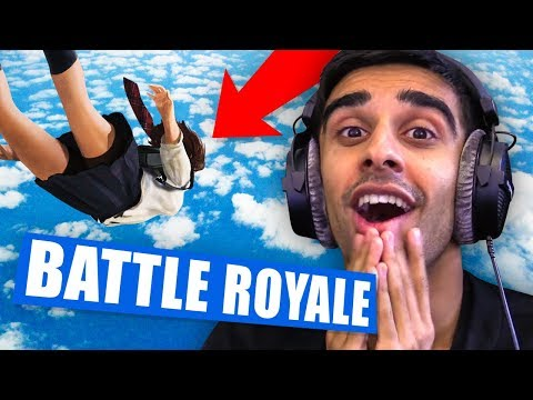 Battle Royale ON A PHONE?! - Knives Out