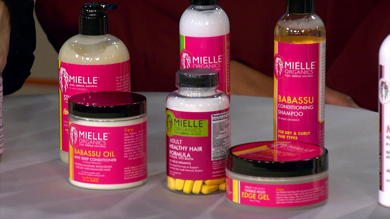 mielle organics, black business, haircare