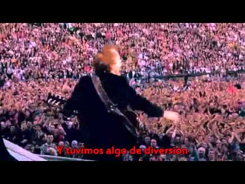 AC DC Thunderstruck Subtitulos En Español HD