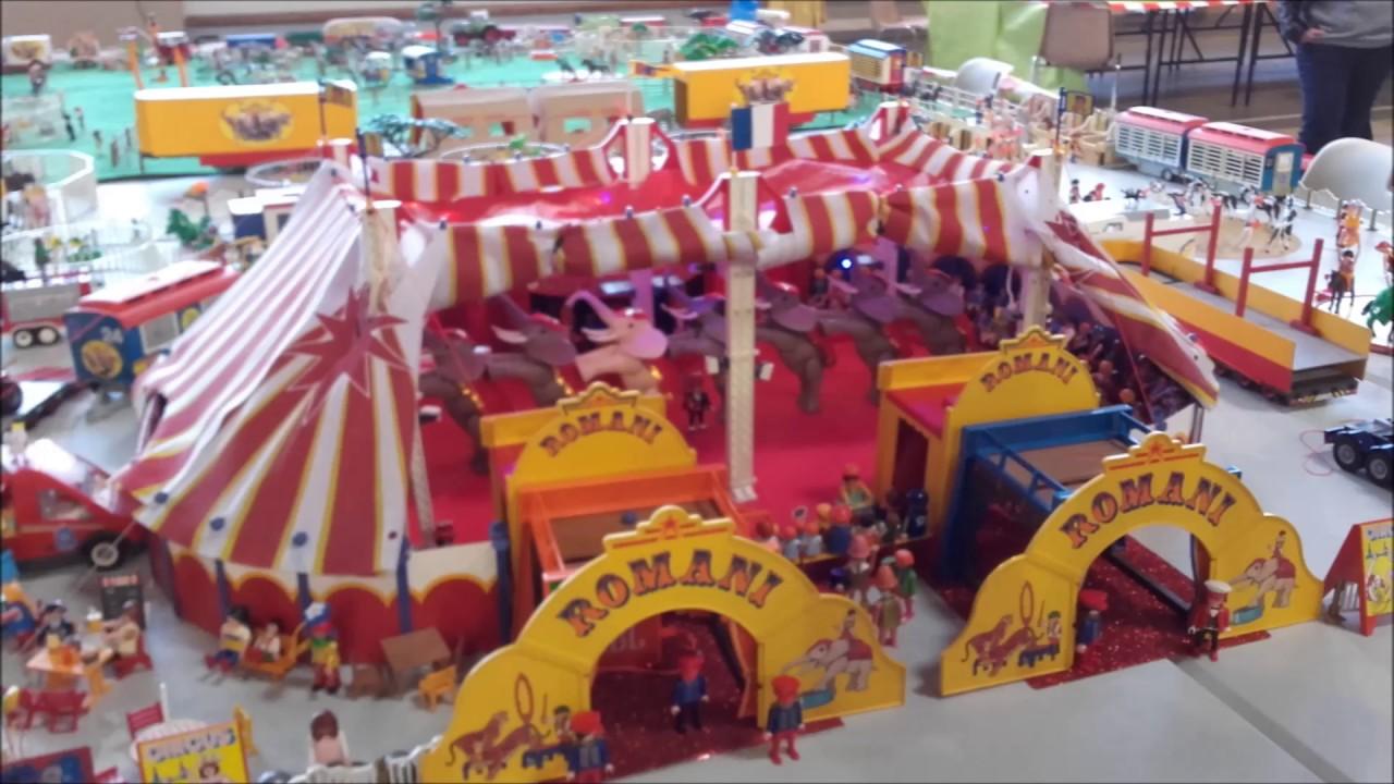 Exposition playmobil st georges d 39 esp ranche 38 f vrier - Cirque playmobil ...