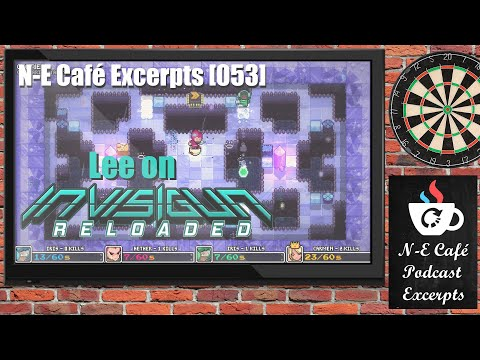 N-E Café Excerpts [053] Lee on Invisigun Reloaded |