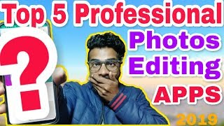 Top 5 photo editing apps for android 2018   Professional Photo Editors Apps 2019🔥