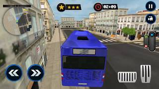 Police Car Wash Service: Gas Station Parking Games FHD-Android Gameplay