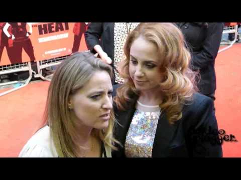 Jamie Denbo and Jessica Chaffin interview soundbites from the Gala Screening of The Heat
