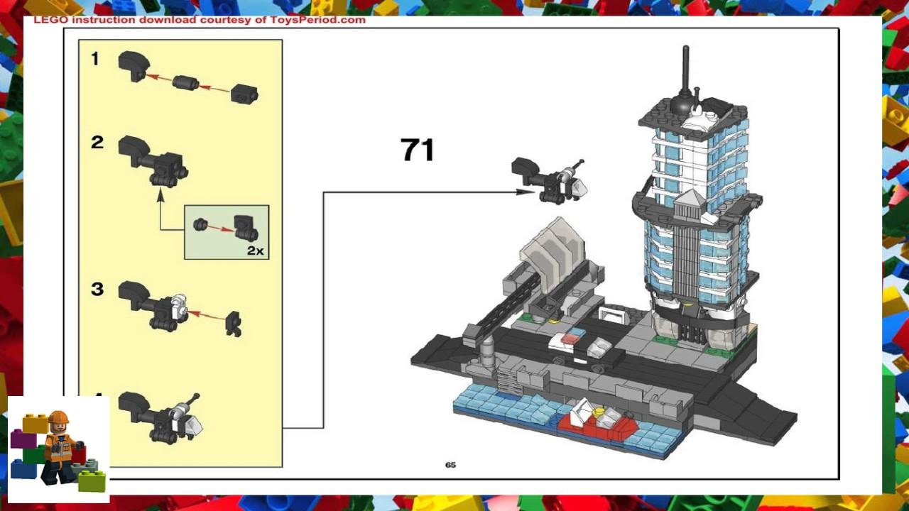 Lego Instructions Factory 5526 Skyline Youtube