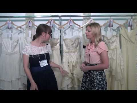 Interview with Wedding Dress Designer Leanne Marshall at New York International Bridal Week