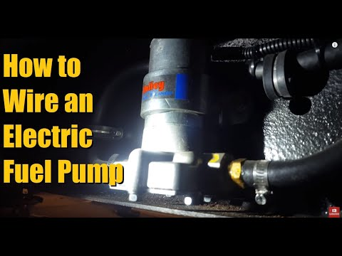 How to wire an Electric Fuel Pump