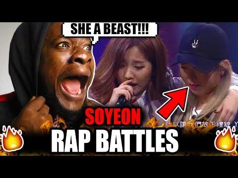Soyeon Battle Raps!? (G)I-dle (Reaction)