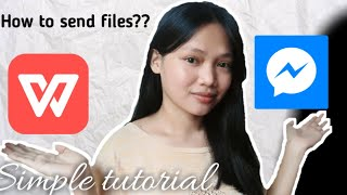 How to send files from WPS to MESSENGER (tutorial#2) |Flowny J. screenshot 3