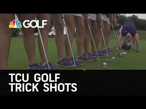 TCU Golf Trick Shots | Golf Channel