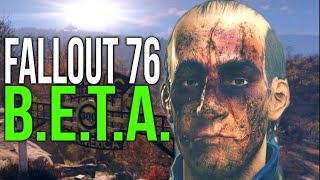THE WORST FALLOUT 76 COMMENTARY - B.E.T.A. Funny Moments - Pt.1