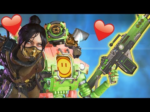 Carrying My Valentines Date In Apex Legends