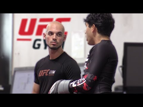 BEEFING Fighters In The UFC Gym!