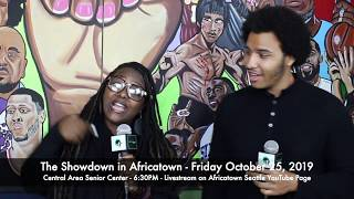 #ShowdownInAfricatown Voter Forum - Tomorrow at CASC bring your ballot and an empty belly!