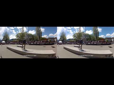 Bulle Skate Contest 2012 3D (GoPro Hero2, Fuji W3)