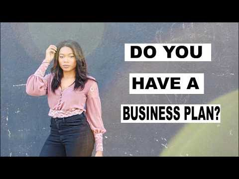 Big Business Announcement: Do You Have A Business Plan? | Tr