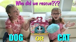 Francesca and Leah's AMAZING PET RESCUE! NEW Scruff A Luvs Real Rescue!