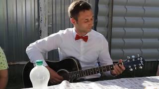 С.Есенин - Заметался пожар голубой на гитаре (cover от Дениса Столярова)