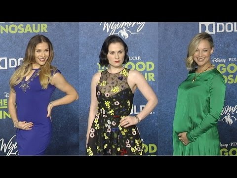 """The Good Dinosaur"" World Premiere Anna Paquin, Sam Elliott, A.J. Buckley and MORE!"