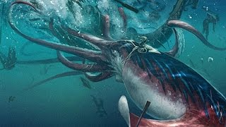 The Biggest Giant Squid Ever Caught on Camera - Documentary