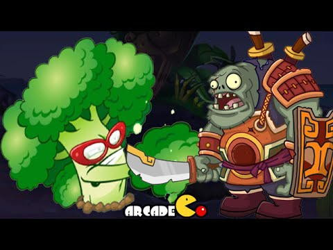 Plants Vs Zombies 2: New Plant Broccoli Vs Zomboss General