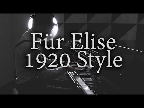 Slava Presnyakov - Für Elise 1920s Gangster Style [Cover; Classical & Ragtime] (2015)