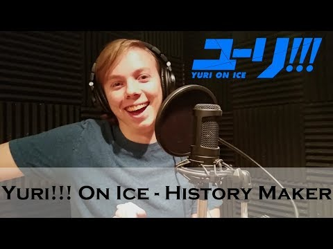 Yuri!!! On Ice - History Maker Cover