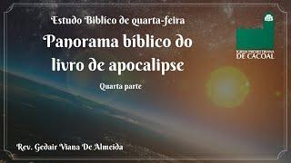 Série: Panorama bíblico do livro de apocalipse