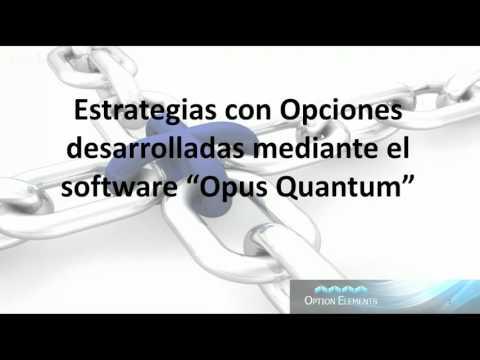 Trading con Opciones a través del Software de Análisis Cuantitativo Opus Quantum, con Ricardo Sáe...
