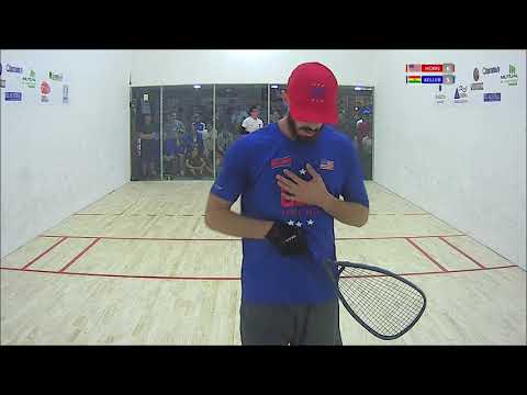 2018 Racquetball Pan Am Championships - Men\'s Singles Final - Horn USA vs Keller BOL