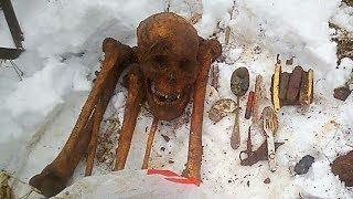 Первые 10 солдат в 2018 году. Раскопки по войне в Демянском котле/ Excavations of Soviet soldiers