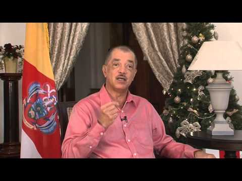 Seychelles President James Michel- New Year's Message 2015 (Creole) on SBC News