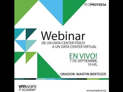 De un Data Center Físico a un Data Center Virtual